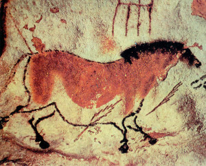 Cro-Magnon cave painting from Lascaux, southern France