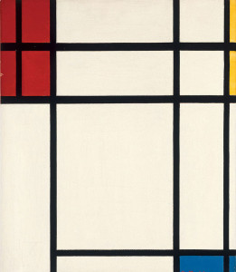 Piet Mondrian, Composition of Red, Blue, Yellow, and White: Nom II, 1939