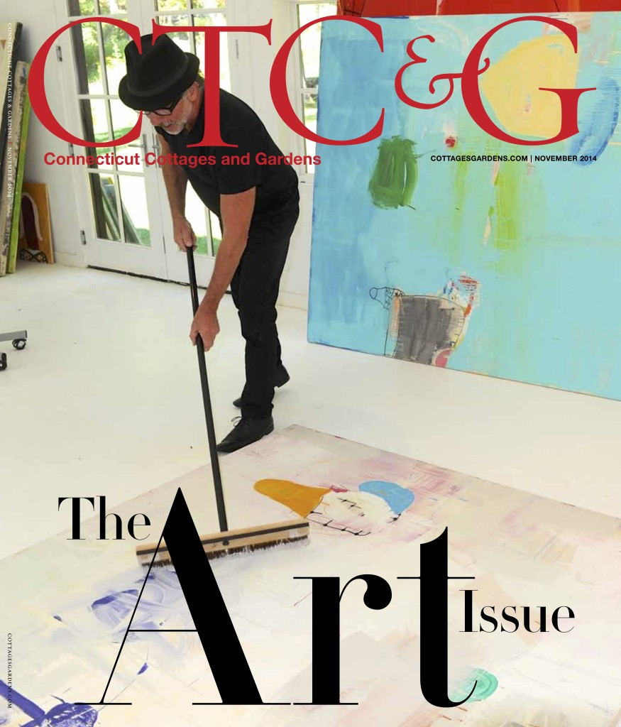 Gary Komarin on the Cover of the Connecticut Cottages & Gardens Art Issue