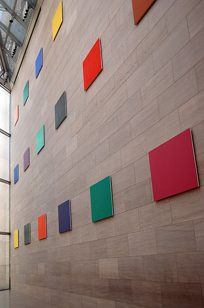 Color Panels for a Large Wall by Ellsworth Kelly