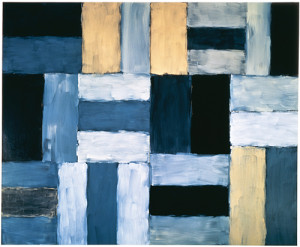 Wall of Light Desert Night by Sean Scully