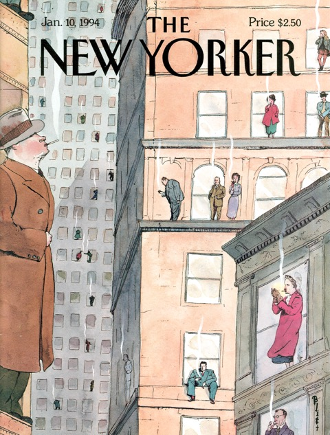 Barry Blitt New Yorker Magazine Cover
