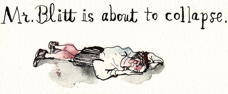 Cartoonist and Illustrator Barry Blitt