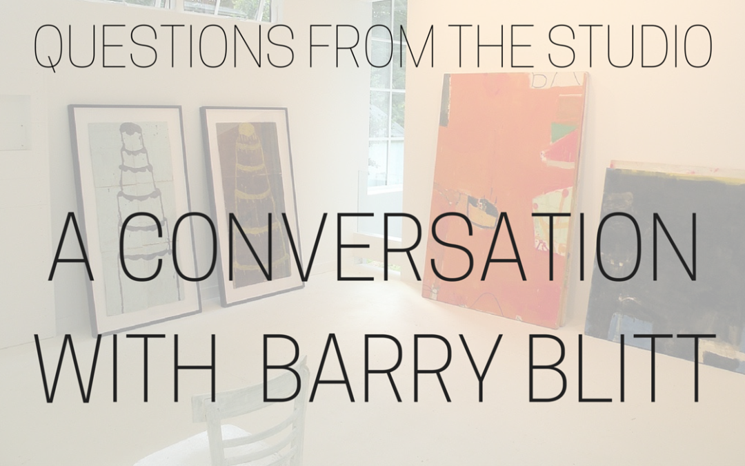 Questions from the Studio – Conversation with Barry Blitt
