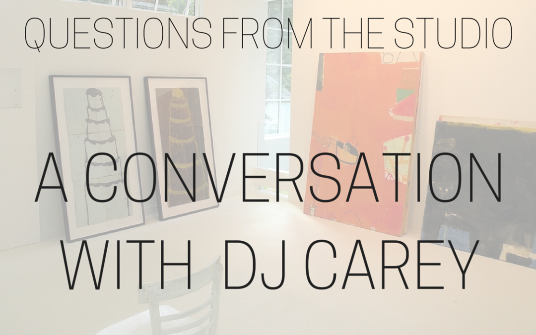 Questions From The Studio – A Conversation with DJ Carey