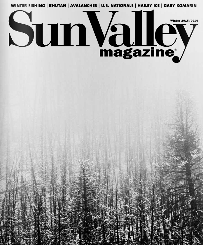 Gary Komarin in Sun Valley Magazine Winter 2016 issue